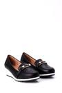 5638018141 Kadın Dolgu Topuklu Tokalı Ayakkabı