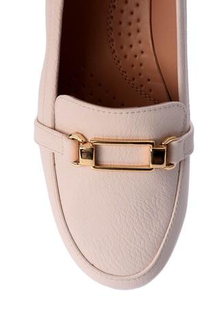 Kadın Dolgu Topuklu Tokalı Ayakkabı