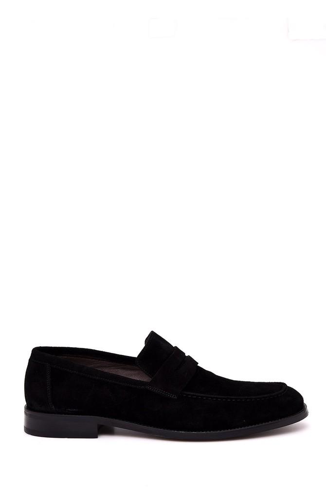 Siyah Erkek Süet Ayakkabı 5638007625