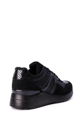 Kadın Kroko Detaylı Sneaker