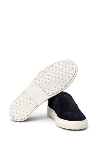 Erkek Süet Deri Loafer