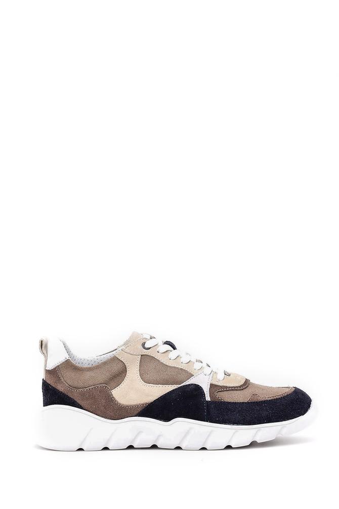 Lacivert Erkek Süet Sneaker 5638028585