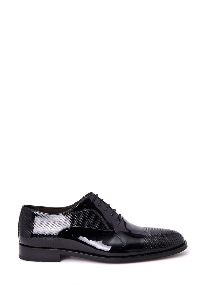 Siyah Erkek Klasik Rugan Ayakkabı 5638007718