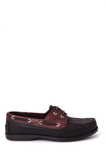 5638011888 Erkek Kahverengi Bağcıklı Ayakkabı