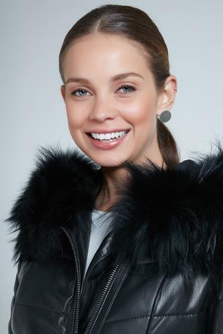 Sienna Kadın Deri Ceket