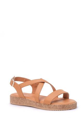 Kadın Mantar Tabanlı Sandalet