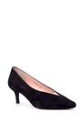 5638039096 Kadın Süet Deri Topuklu Ayakkabı