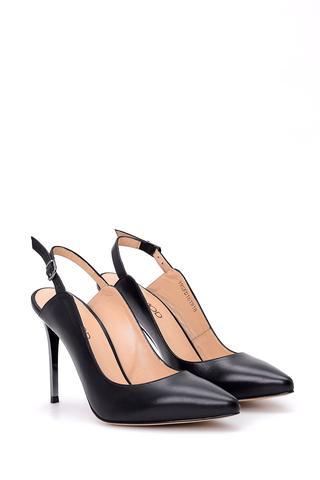 Kadın Topuklu Deri Ayakkabı