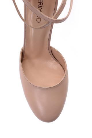 Kadın Bilekten Bağlamalı Topuklu Ayakkabı