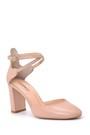 5638033685 Kadın Bilekten Bağlamalı Topuklu Ayakkabı
