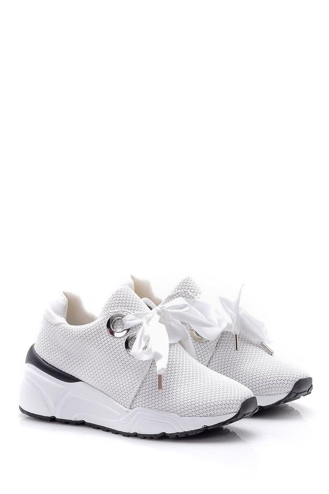 5638004807 Kadın Bağcık Detaylı Sneaker