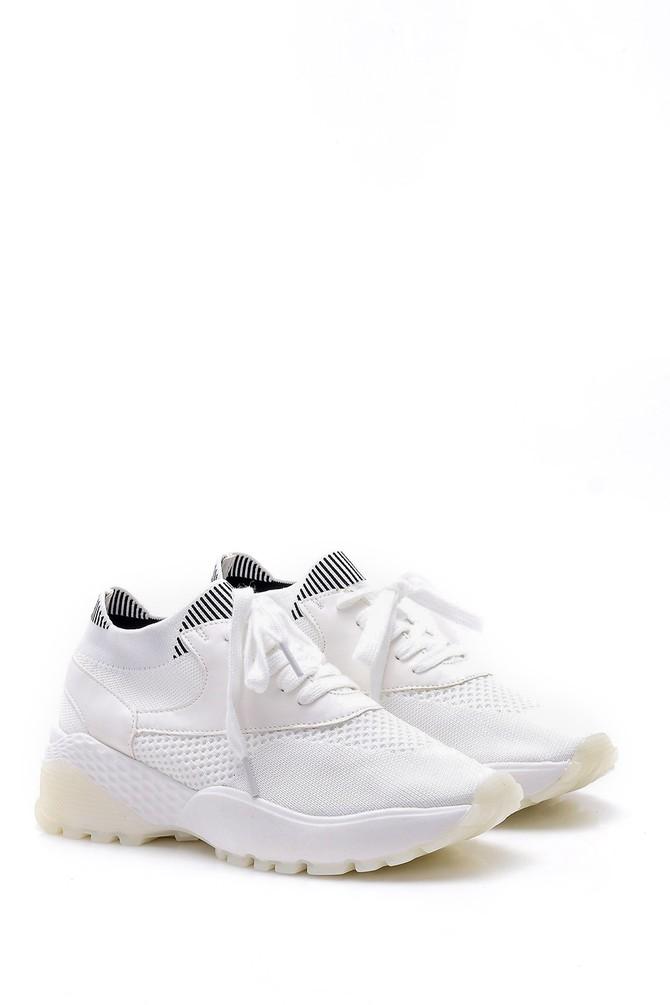 5638004829 Kadın Bağcık Detaylı Sneaker