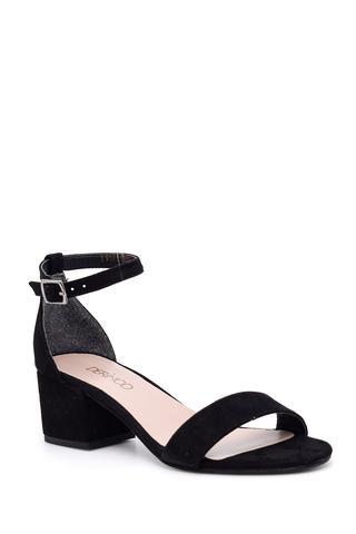 Kadın Süet Topuklu Ayakkabı