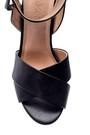 5638015829 Kadın Bilekten Bağlamalı Topuklu Ayakkabı
