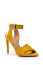 5638018469 Kadın Bilekten Bağlamalı Topuklu Ayakkabı