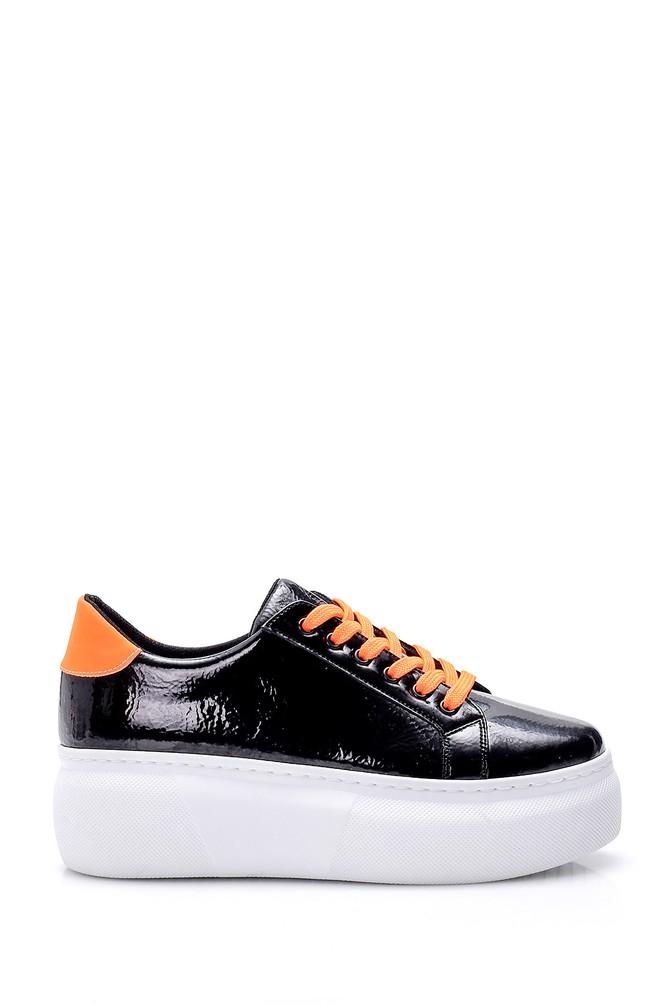 Siyah Kadın Yüksek Tabanlı Sneaker 5638062166