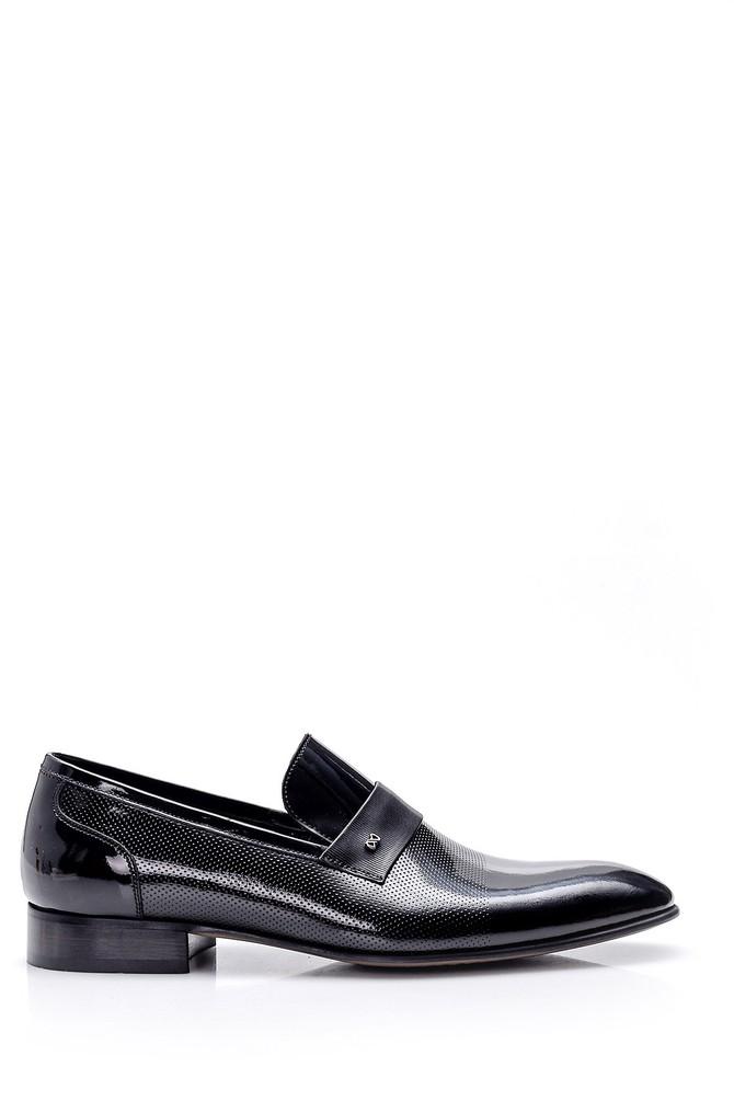 Siyah Erkek Klasik Rugan Ayakkabı 5638007706