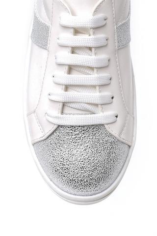 Kadın Lame Detaylı Sneaker