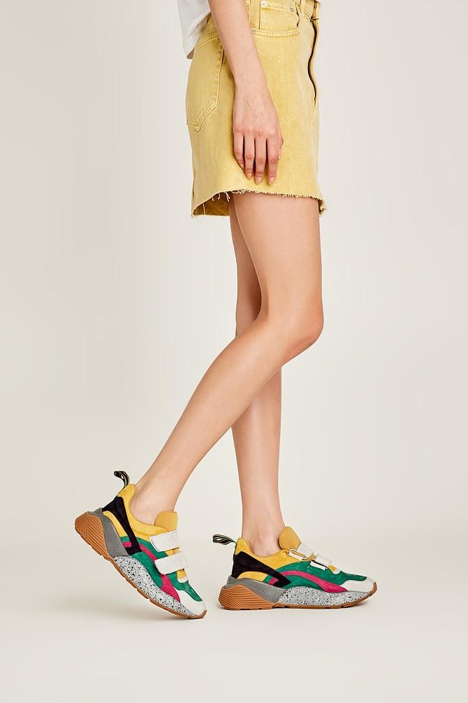 Multi Renk Kadın Yüksek Tabanlı Sneaker 5638010519