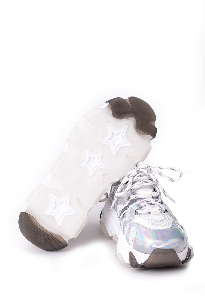 5638055731 Kadın Gümüş Sneaker