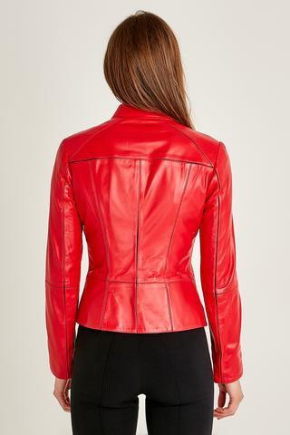 Eva Kadın Deri Ceket