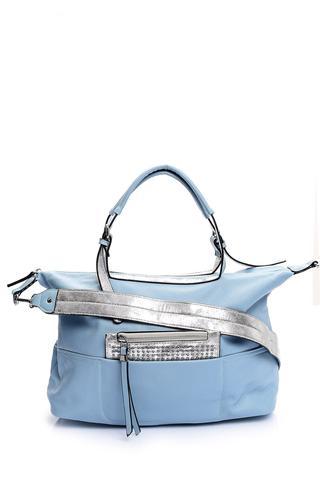 Kadın Gümüş Detaylı Çanta