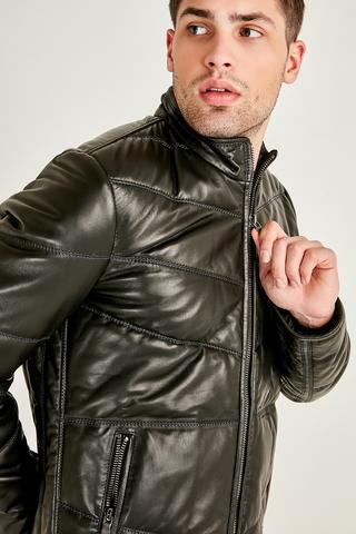 Buffon Erkek Deri Ceket