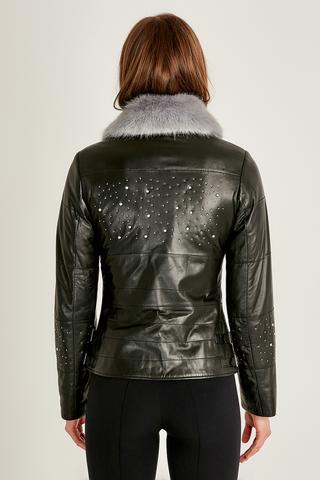 Clara Kadın Deri Ceket