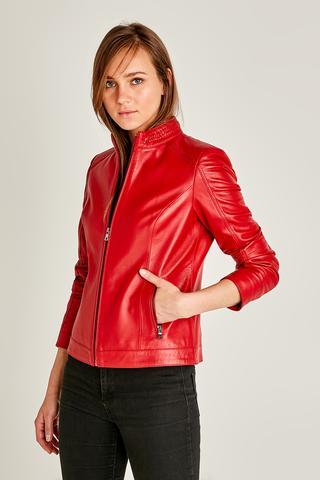 Luna Kadın Deri Ceket