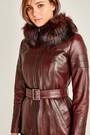 5637959843 Carmela Kadın Deri Ceket