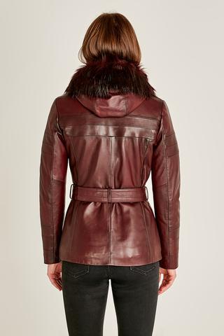 Carmela Kadın Deri Ceket