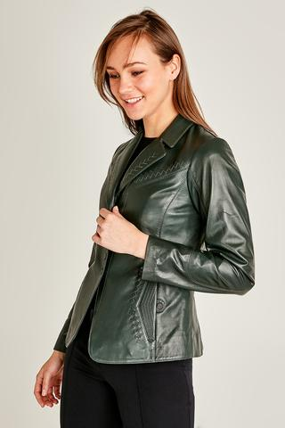 Ibiza Kadın Deri Ceket