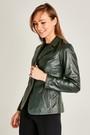 5637976497 Ibiza Kadın Deri Ceket