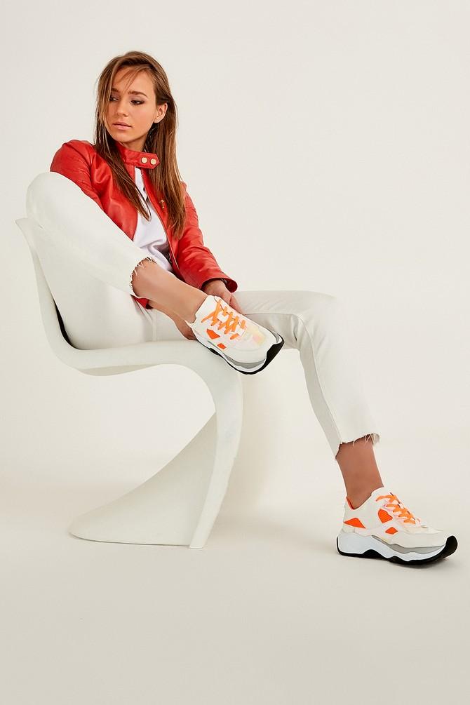 Beyaz Kadın Sneaker 5638026061
