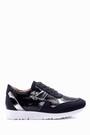 5638018011 Kadın Gümüş Detaylı Ayakkabı