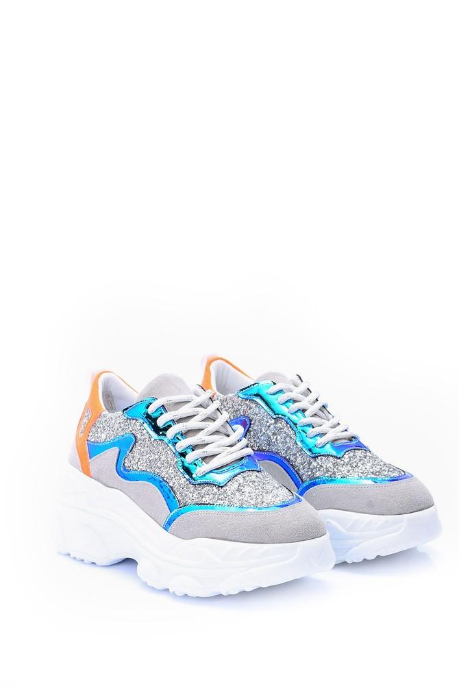 5638062023 Kadın Yüksek Tabanlı Sneaker