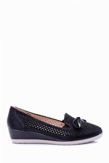 5638022571 Kadın Dolgu Tabanlı Ayakkabı