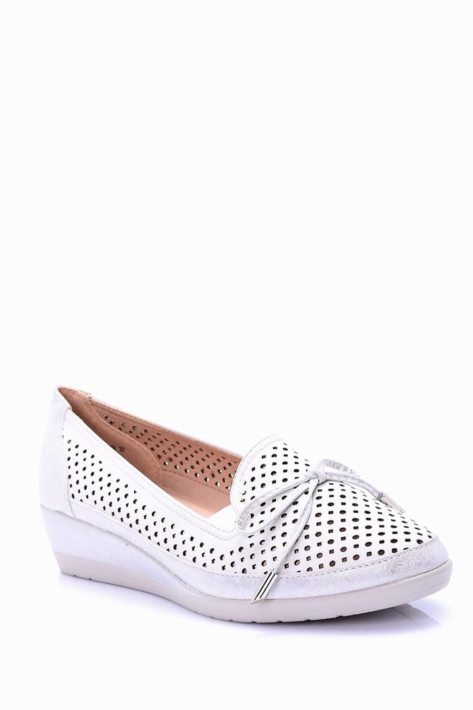 5638022559 Kadın Dolgu Tabanlı Ayakkabı