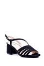 5638039404 Kadın Süet Topuklu Ayakkabı