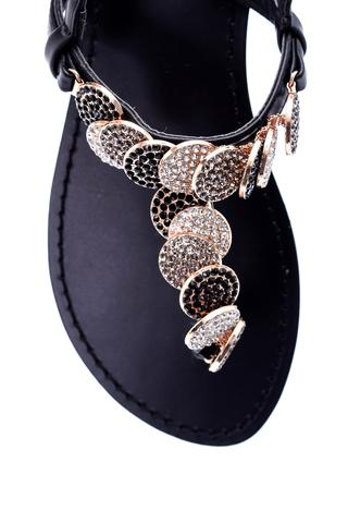 Kadın Taş Detaylı Sandalet