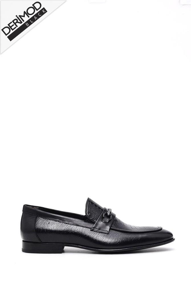 Siyah Erkek Klasik Ayakkabı 5638026877