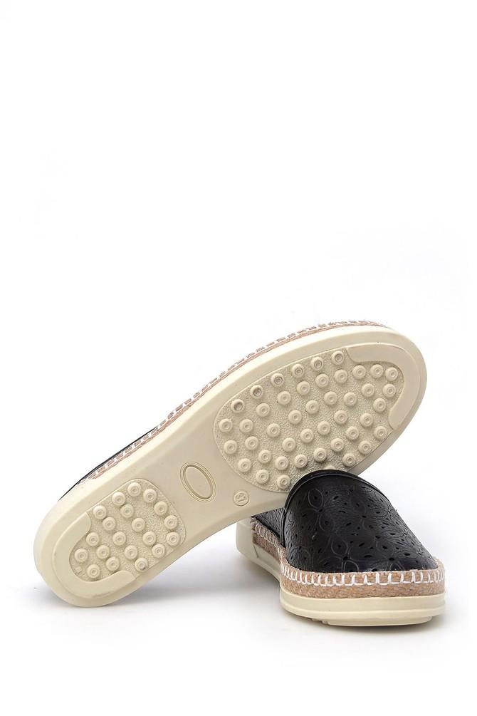 5638017833 Kadın Hasır Tabanlı Ayakkabı