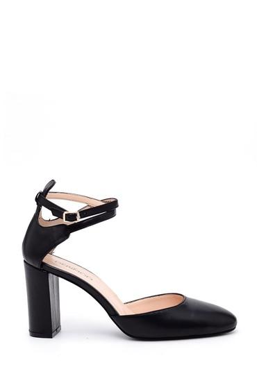 5638033687 Kadın Bilekten Bağlamalı Topuklu Ayakkabı