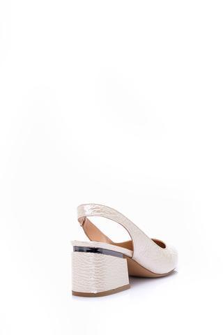 Kadın Rugan Deri Topuklu Ayakkabı