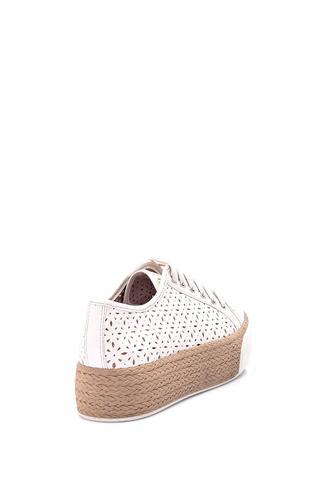 Kadın Hasır Tabanlı Ayakkabı