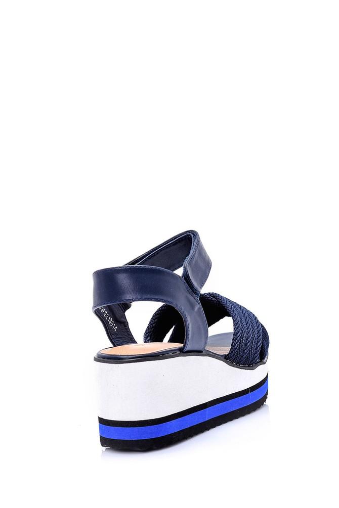 5638015876 Kadın Dolgu Topuklu Sandalet
