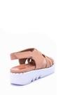 5638046187 Kadın Zımba Detaylı Sandalet