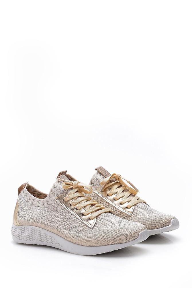 5638065959 Kadın Gold Sneaker