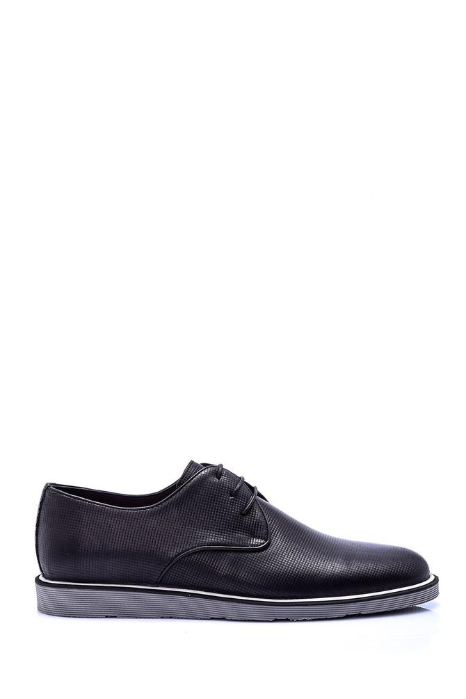 Siyah Erkek Klasik Ayakkabı 5638065098