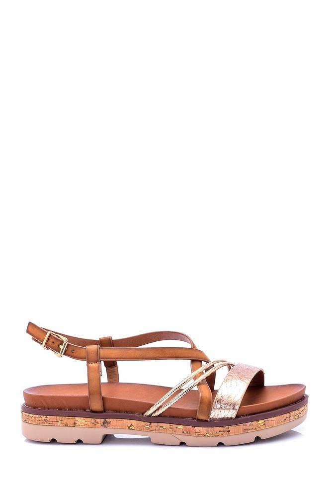 Kahverengi Kadın Sandalet 5638003474